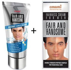 Emami Fair And Handsome Fairness Cream + Face Wash