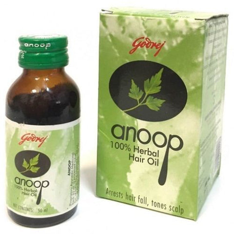 Godrej Anoop 100% Herbal Hair Oil 50ml