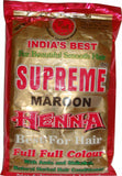 Supreme Herbal Henna Powder - Maroon 100 g