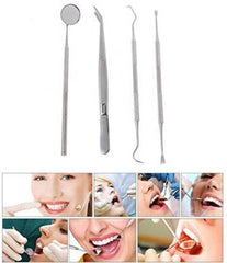 1 Set Dental Kit Oral Dentist Mirror Sculpture Tool Pick