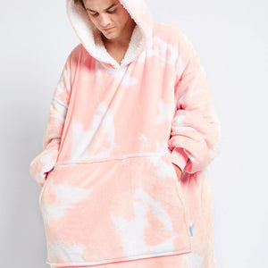Peach Tie-Dye Oodie (Ships on the 18th December)