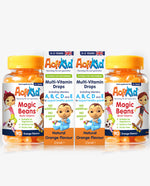 2x Magic Beans Orange 90, 2x Multi-Vitamin Drops 25ml