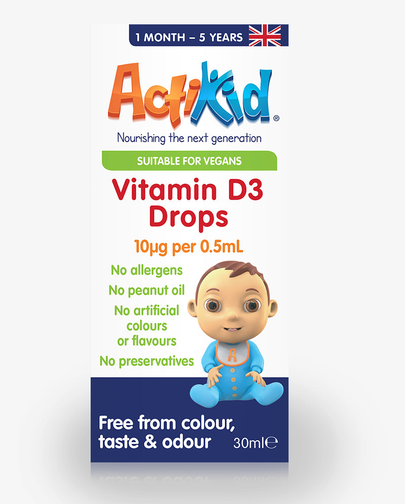 3x Vitamin D3 Drops 30ML