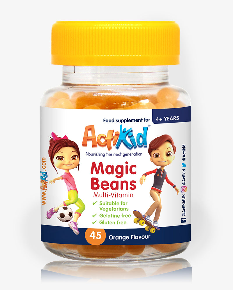 ActiKid® Magic Beans Multi-Vitamin Orange 45