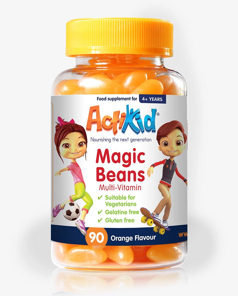 ActiKid® Magic Beans Multi-Vitamin Orange 90