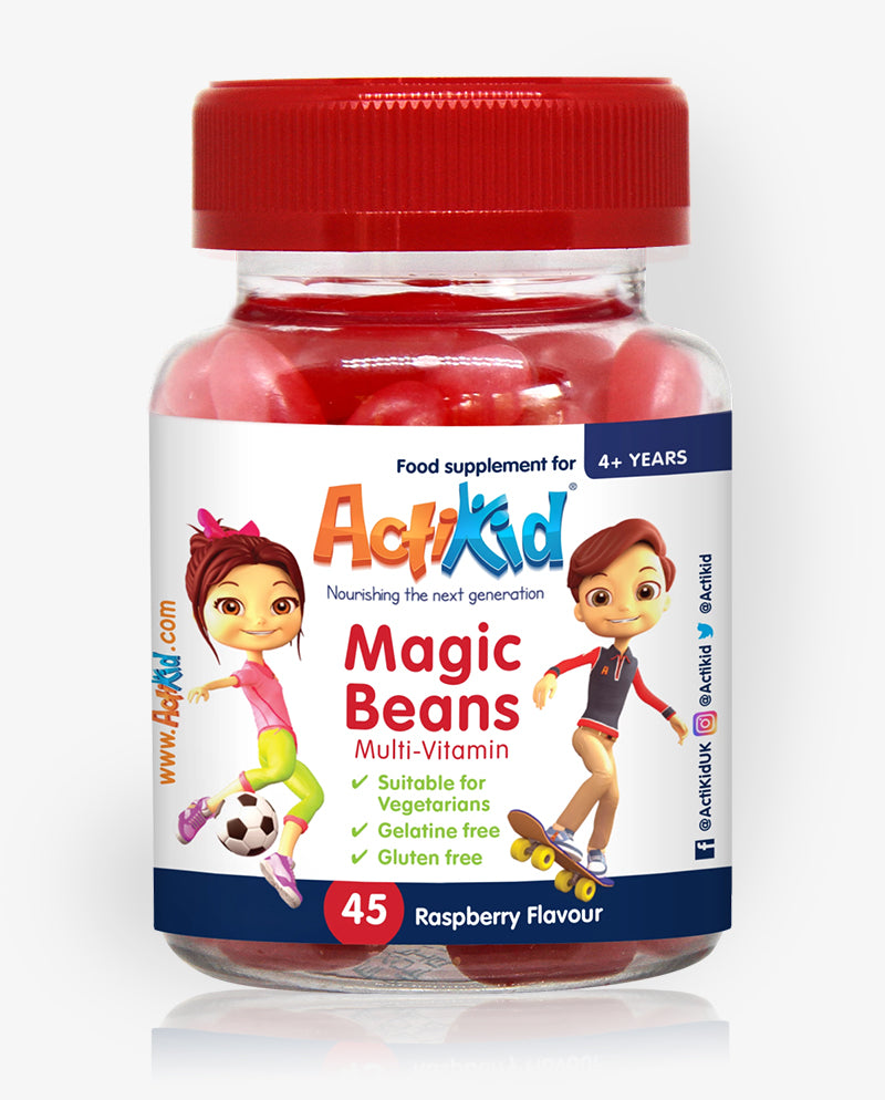 ActiKid® Magic Beans Multi-Vitamin Raspberry 45