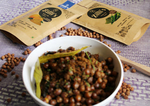 Dry Kala Channa (Chickpeas) Recipe