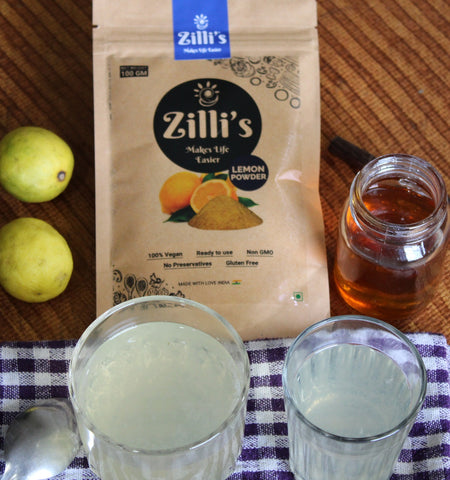 Zilli's - Lemon Honey Water