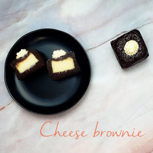 BAKE SALE Mini cheese cakes and Brownies