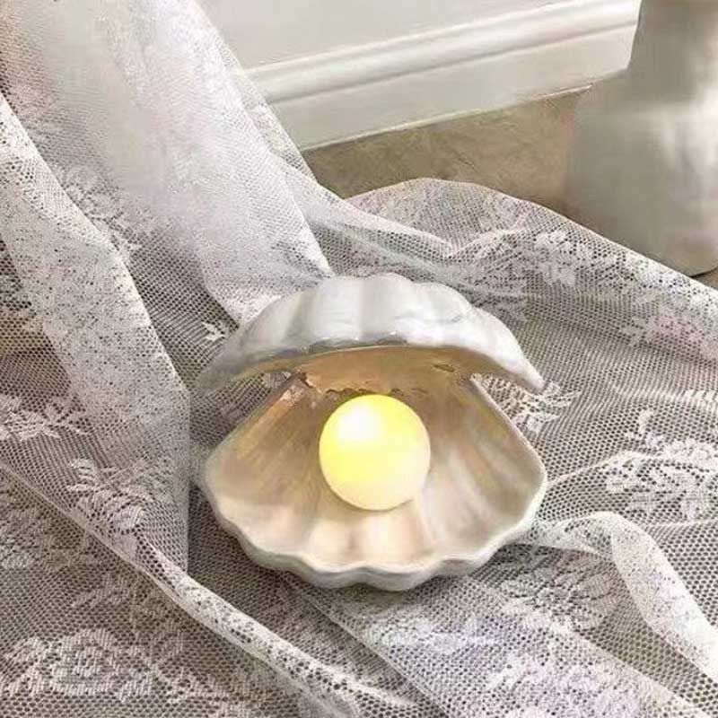 Ceramic Shell Pearl Light | Yedwo Design
