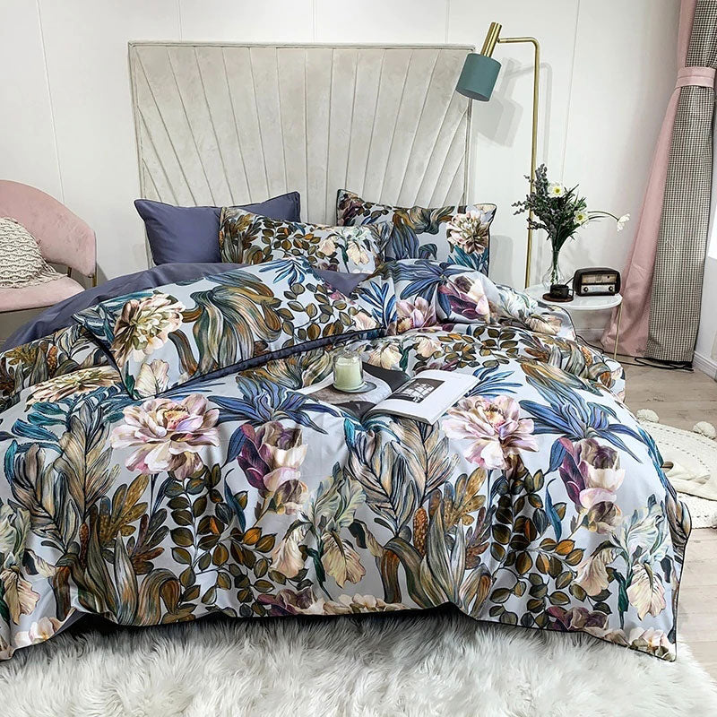 Egyptian Cotton Havana Printed Duvet Cover Set | Yedwo Home