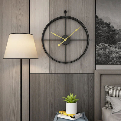 Modern Design Gold Wall Clock | Yedwo Home