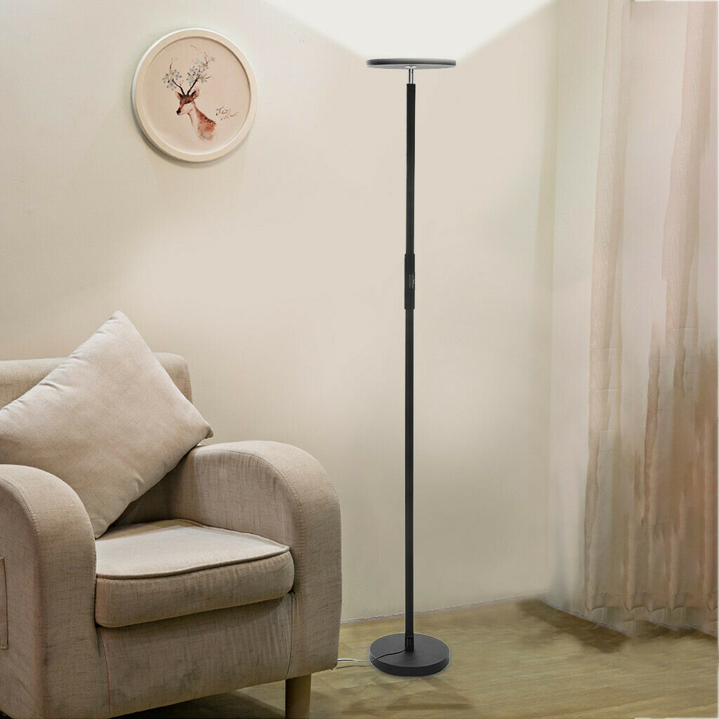 Yedwo Modern Torchiere 3 Color Floor Lamps | Lamps for Living Room | Led Standing Light