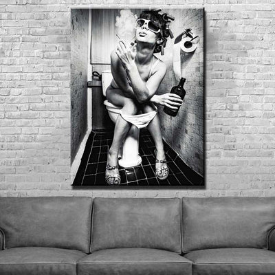 PORCELAIN PRINCESS Wall Art Canvas Print