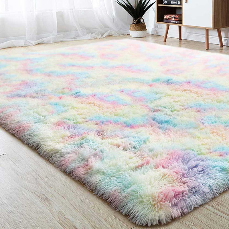 Super Soft Cute Rainbow Rugs | Yedwo Home