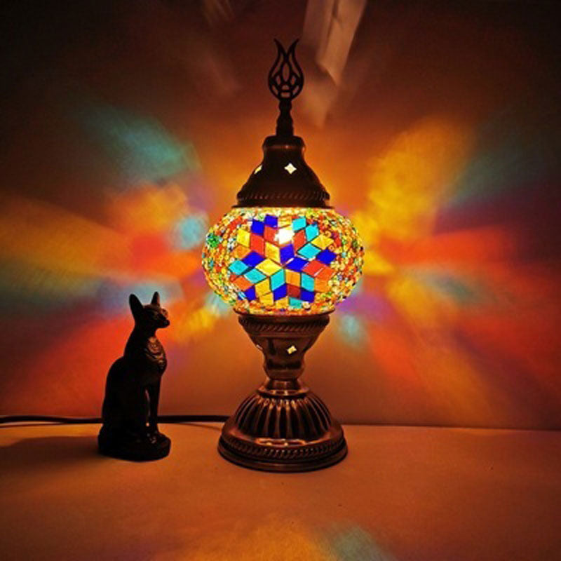Turkish Mosaic Mystic Table Lamp | Yedwo Home
