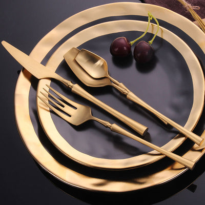 Venice Gold Flatware | Yedwo Home Design