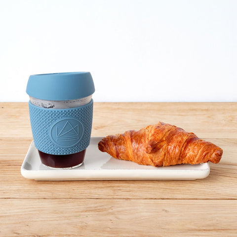 Reusable Glass Coffee Cup - Gift Idea For Coffee Lover