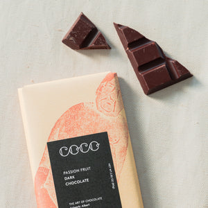 Dark Passion Fruit Chocolate
