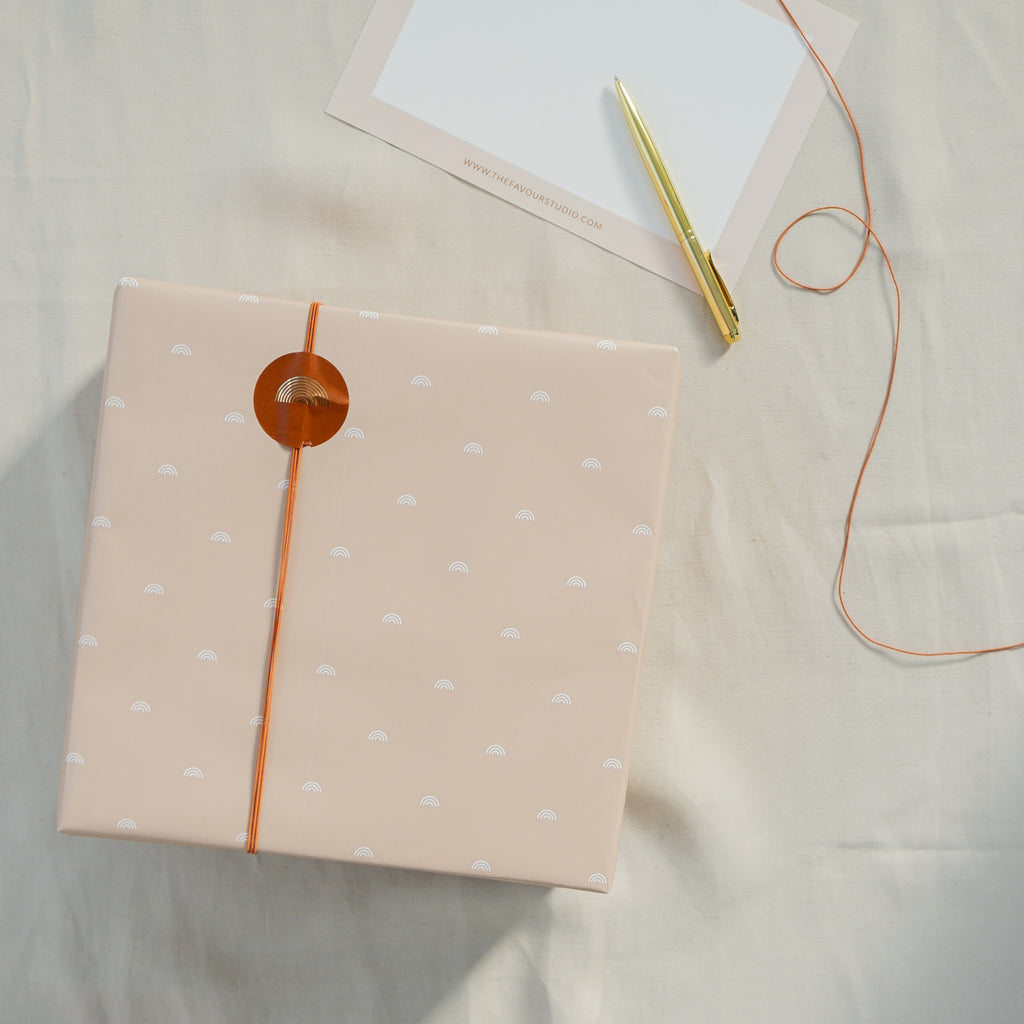 Gift Wrapping + Card