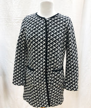Load image into Gallery viewer, Talbots Hounds-Tooth Jacket (S) - HOB Boutique