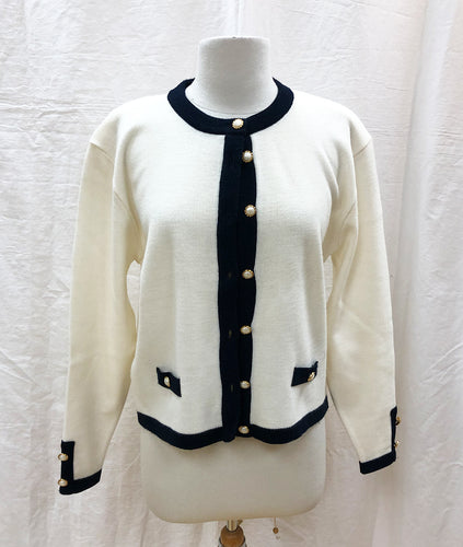 St Michael Cardigan (S) - HOB Boutique