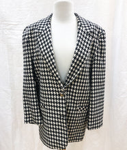 Load image into Gallery viewer, Vintage Hounds-Tooth Jacket (L) - HOB Boutique
