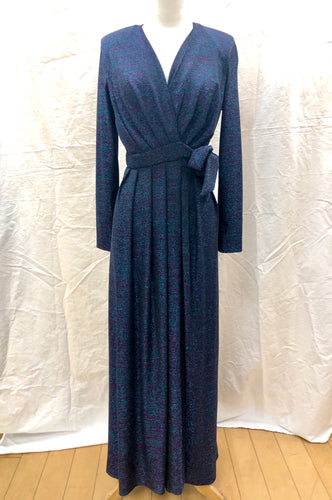 Vintage Sparkle Wrap Dress - HOB Boutique