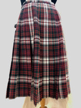 Load image into Gallery viewer, Vintage Red Plaid Kilt (S) - HOB Boutique