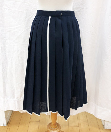 Navy Skirt (S) - HOB Boutique