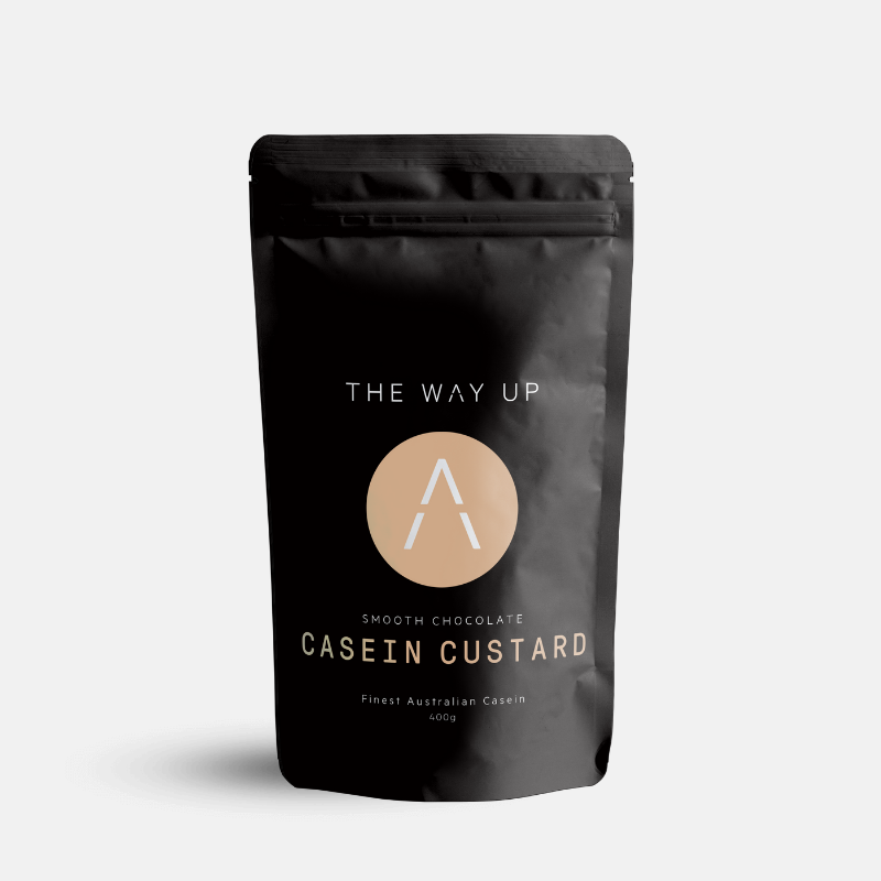Chocolate Casein Custard