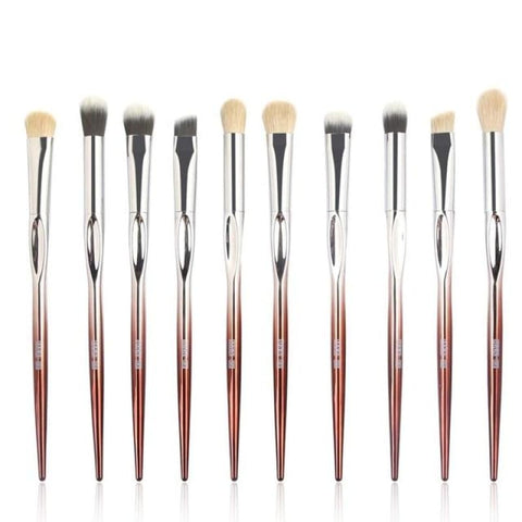 MAANGE 10 Pcs Professional Makeup Brush