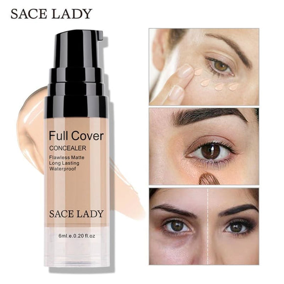 SACE LADY Professional Eye Concealer Makeup Base Cream