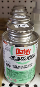 Oatey 3561833 4 oz ABS to PVC Transition Cement