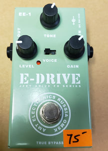 AMT Electronics EE-1 E-Drive Engl Emulator Distortion Pedal