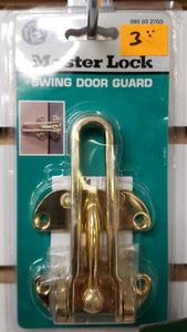 Master Lock 085 03 2703 Swing Door Guard