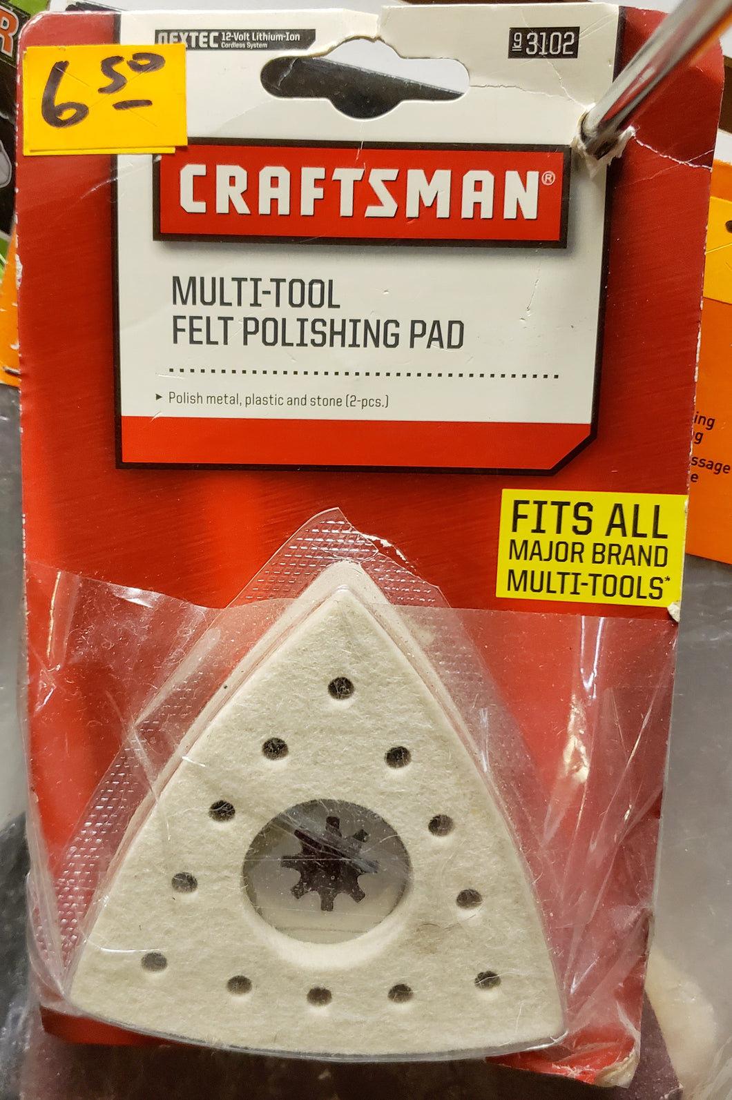 Craftsman 3102 Multi-Tool Felt Polishing Pad
