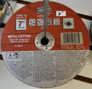 "Vermont American 28077 7"" to 7-1/4"" Metal Cutting Blade"