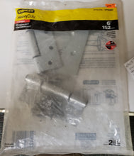 "Load image into Gallery viewer, Stanley S173-510 / SP908BP 6"" Tin Gate Hinge 2-Pack"