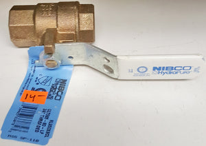 "NIBCO NL950X8CL Bronze 3/4"" Female x 3/4"" Ball Valve"