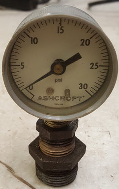 Ashcroft 594-04 30 PSI Gauge