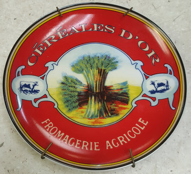 2004 Boston Warehouse cereales d'or fromagerie agricole Decoratie Plate