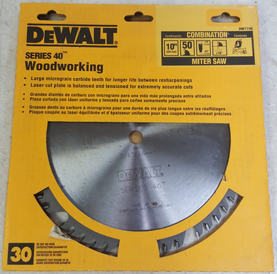DeWALT DW7150 Carbide Tipped 10