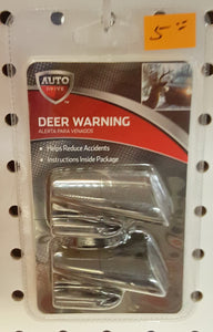 Auto Drive Deer Warning Collision Warning Device 2-pack Black