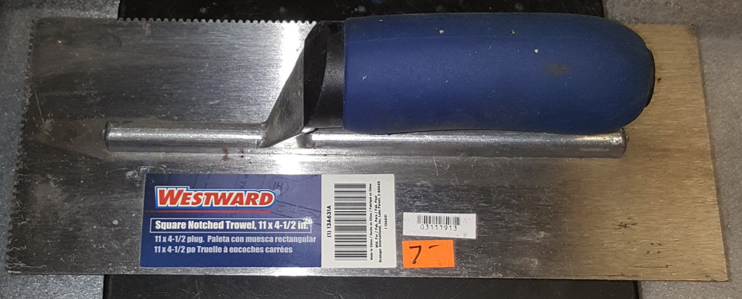 Westward 13A631 2-Sided High Carbon Steel 11