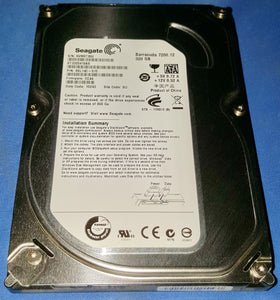 "Seagate BarraCuda 7200.12 ST3320418AS 320GB 16MB SATA 3.0Gb/s 3.5"" Internal HDD"