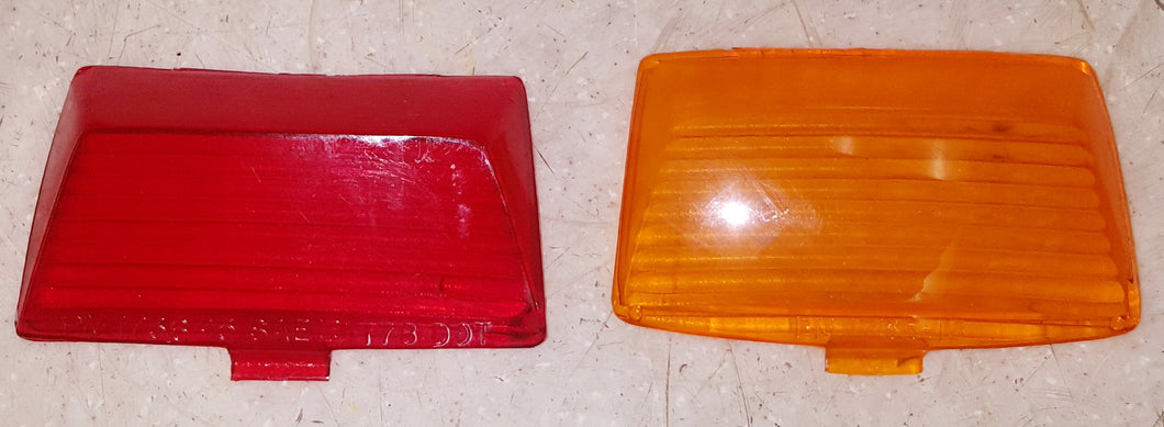 Harley-Davidson Fender Lens Set Amber Orange Red Factory