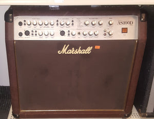 Marshall AS100D 2x8 Acoustic Combo Amp (missing 1 knob)