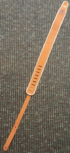 Levy Suede Leather Guitar Strap