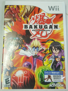 Bakugan: Battle Brawlers Wii Game